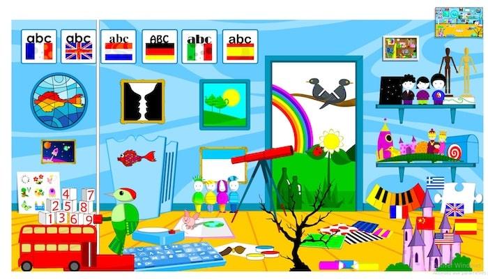 Le site Poisson Rouge propose des exercices et des jeux pour apprendre l'anglais aux jeunes enfants