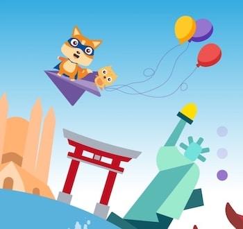 Visuel de l'app Holy Owly pour apprendre l'anglais aux enfants