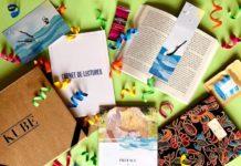 Livres et cadeaux contenus dans le coffret Kube Originale