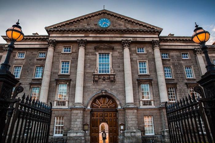 Le Trinity College, université renommée à Dublin
