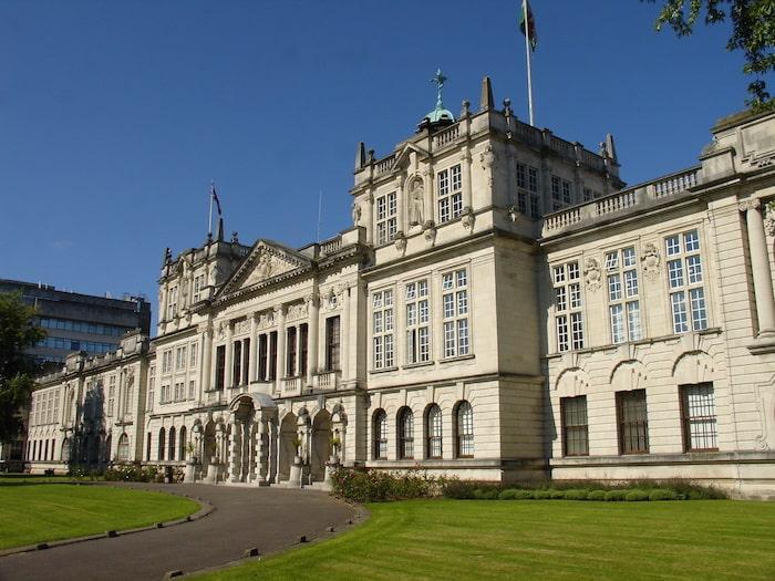 L'université renommée de Cardiff au Pays de Galles