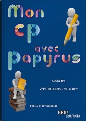 Couverture du manuel Mon CP avec Papyrus
