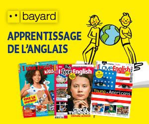 Découvrez sur le site Bayard Jeunesse 4 magazines pour apprendre l'anglais aux enfants et ados